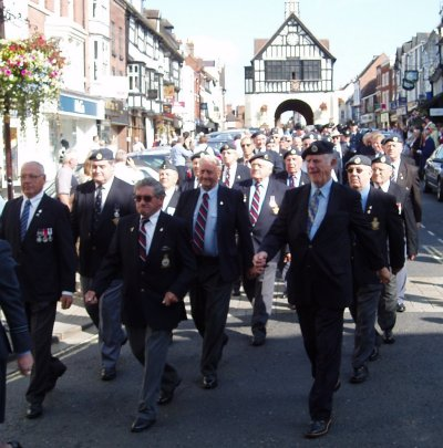 60 years on. Still marching in Bridgnorth.